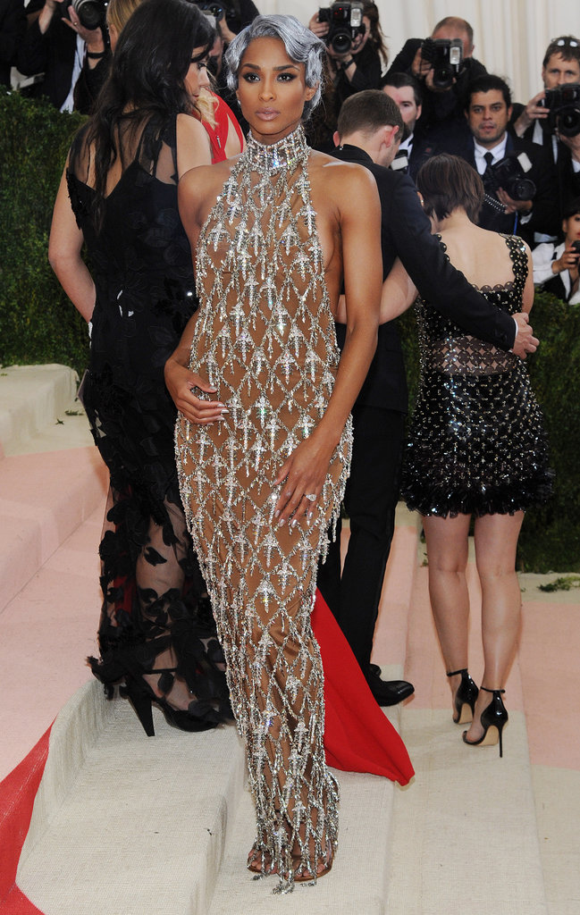 Ciara sur le red carpet du Met Gala 2016