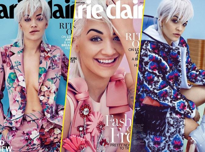 Photos : Rita Ora joue les romantiques pour Marie-Claire USA !