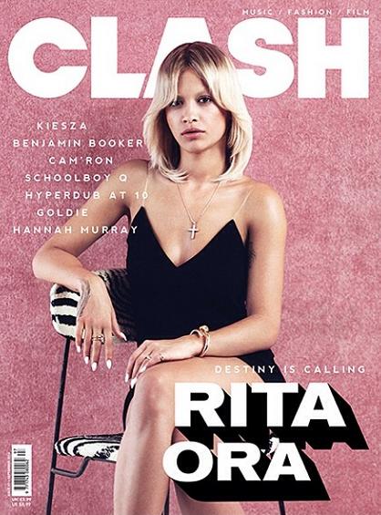 Photos : Rita Ora, méconnaissable pour Clash Magazine !