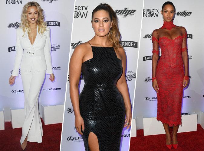 Photos : Rose Bertram, Ashley Graham, Lais Ribeiro... Les cover-girls de Sports Illustrated enflamment le red carpet