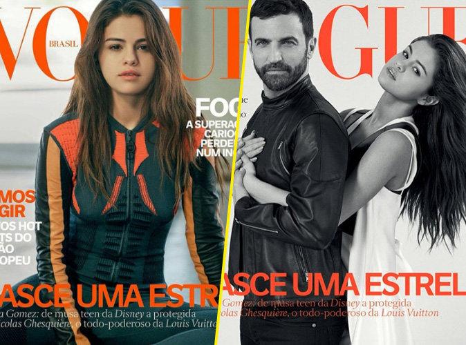 Selena Gomez et Nicolas Ghesquière en couverture de Vogue Brésil