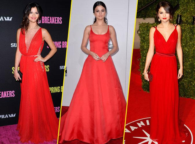 Selena Gomez : Sa passion pour le rouge