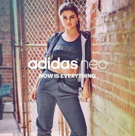 Selena Gomez pour la collection automne de NEO d'Adidas