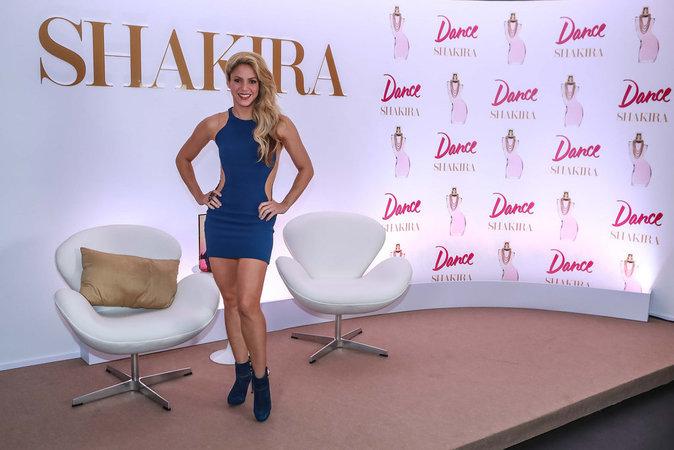 Shakira : la bomba latina dévoile son nouveau parfum !