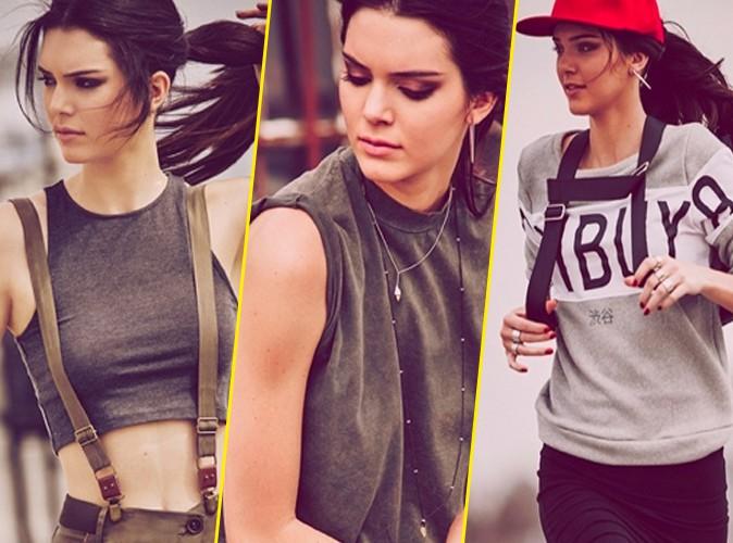 Photos : Smoky eyes et urban style, Kendall Jenner pose de nouveau pour Penshoppe !