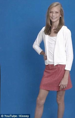 Karlie Kloss jeune