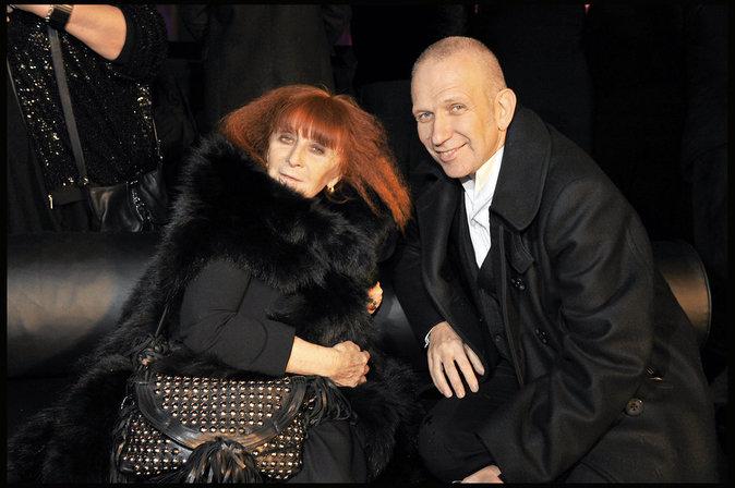 Sonia Rykiel et Jean-Paul Gaultier