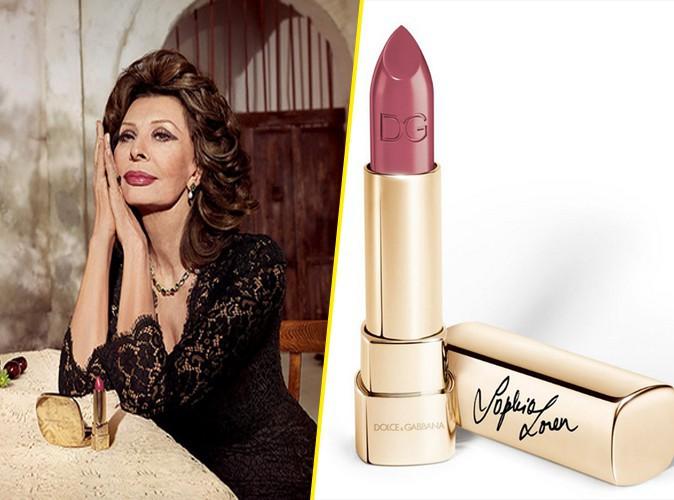 Photos : Sophia Loren : avec Dolce & Gabbana, l'icône lance son rouge à lèvres !