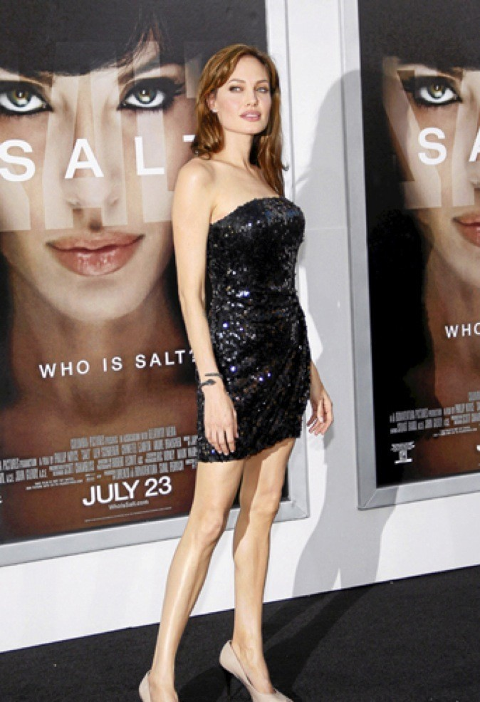 Angelina Jolie, le 19/07/2010