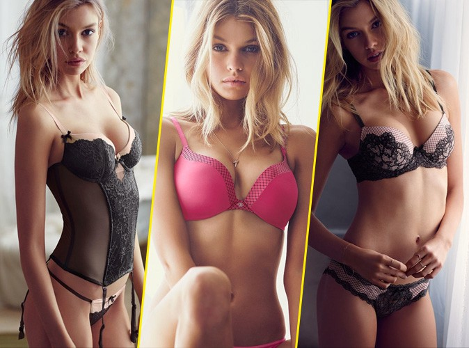 Photos : Stella Maxwell, la girlfriend de Miley Cyrus, super hot dans son shooting Victoria's Secret !