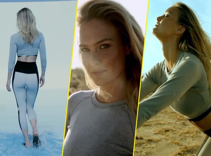 Photos : Suave et sensuelle, Bar Refaeli illumine la spot publicitaire Buick avec son cour de yoga !