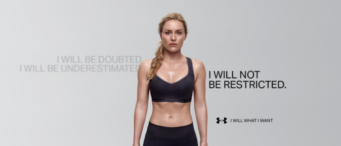 Lindsey Vonn pour Under Armour