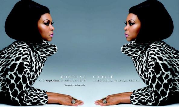 Photos : Taraji Penda Henson : la diva d'Empire plus féline que jamais pour Harper's Bazaar !