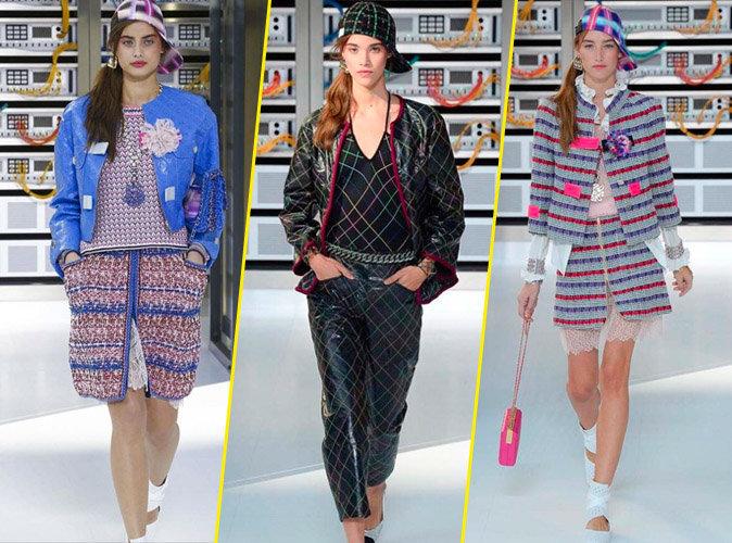 Photos : Taylor Hill, Pauline Hoarau, Joséphine Le Tutour : stars du défilé 2.0 de Chanel !