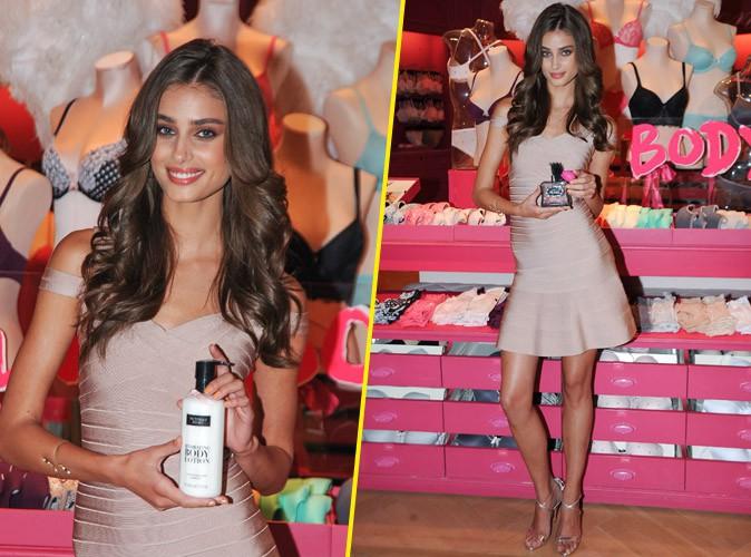 Photos : Taylor Hill, ultra girly pour sa campagne de promotion Victoria's Secret !