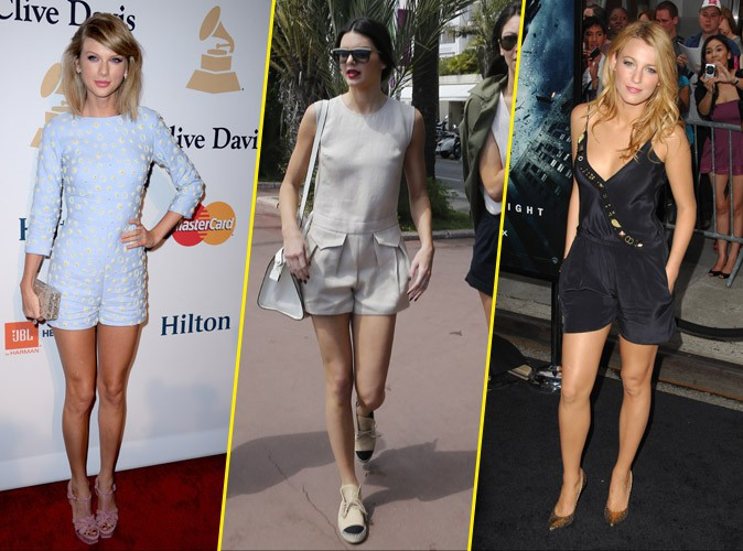 Photos : Taylor Swift, Kendall Jenner, Blake Lively... Elles adoptent toutes la combishort !