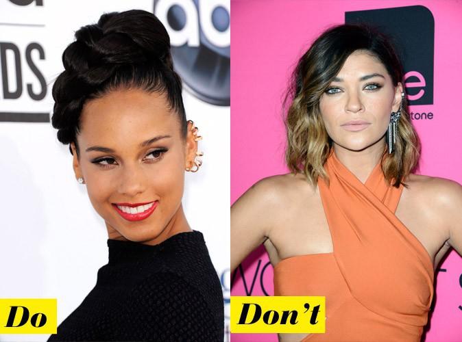 L'ear cuff : Do - Alicia Keys / Don't - Jessica Szohr