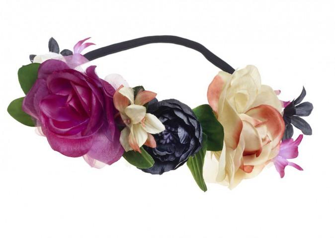La couronne de fleurs : Claire's, 12,99 €