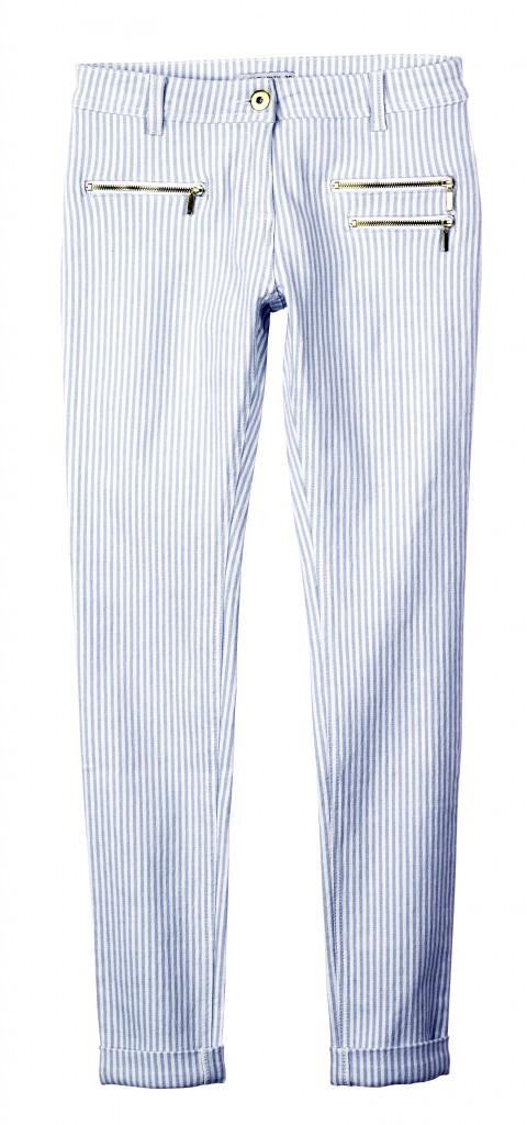 Pantalon à fnes rayures, Tati 17,99€