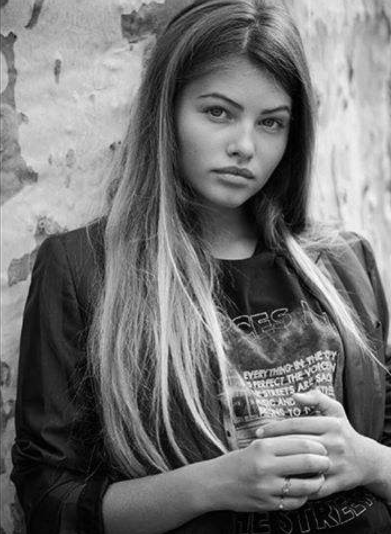 Thylane Blondeau pour Teen Vogue