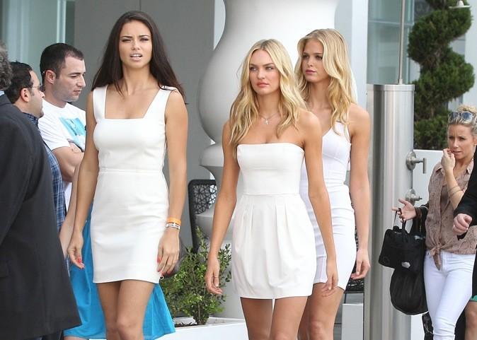Toutes de blanc vêtues...