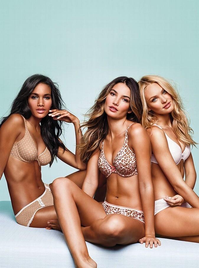 Trois anges posent pour la lingerie Victoria's Secret !