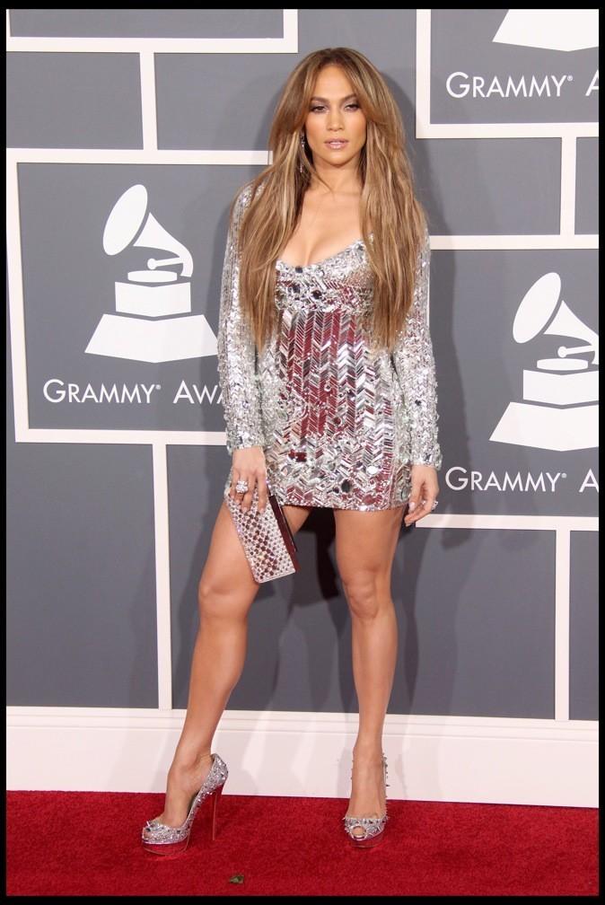 Jennifer Lopez : toujours assortis à sa robe !