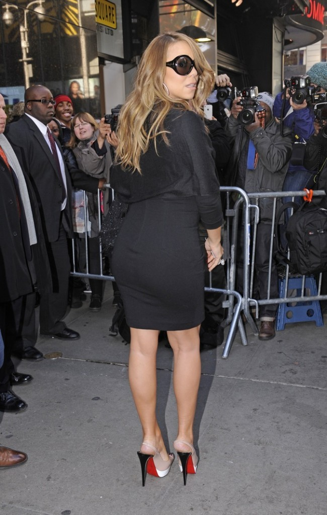 Mariah Carey nous montre ses semelles !