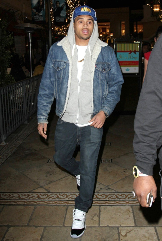 Chris Brown : rude boy !