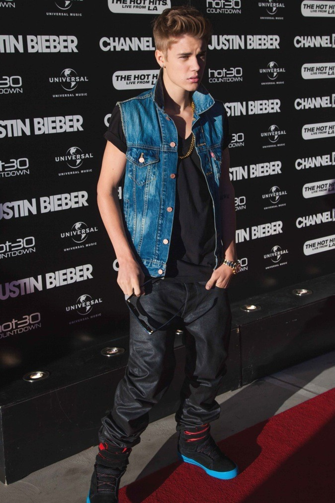 Justin Bieber : bad boy !