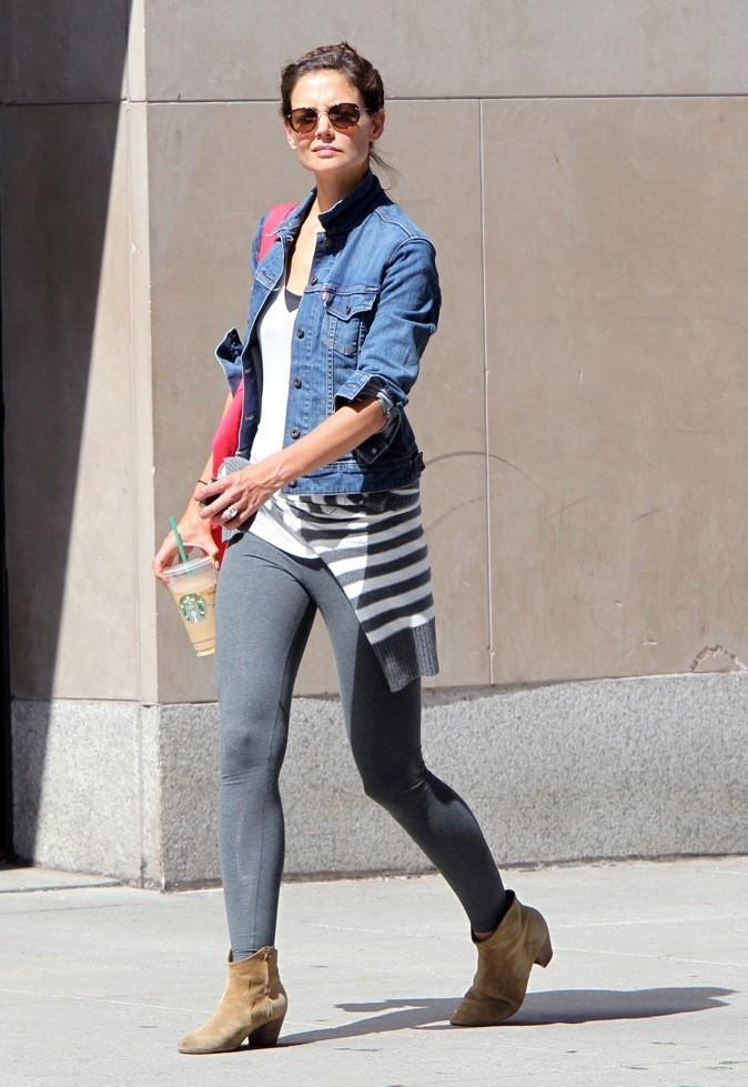 Katie Holmes : en mode sportive !