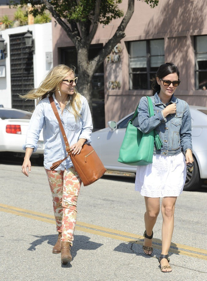Kristen Bell & Rachel Bilson : le doublet !