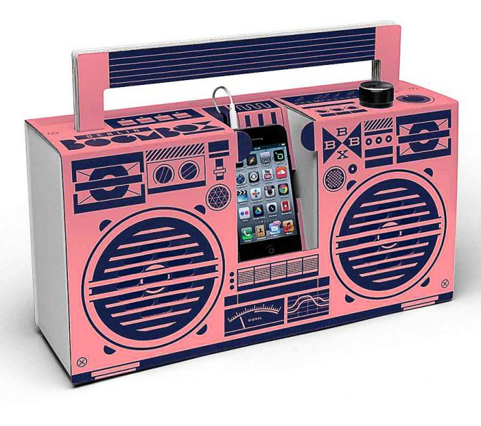Base pour iPhone, Berlin Boombox 69 €