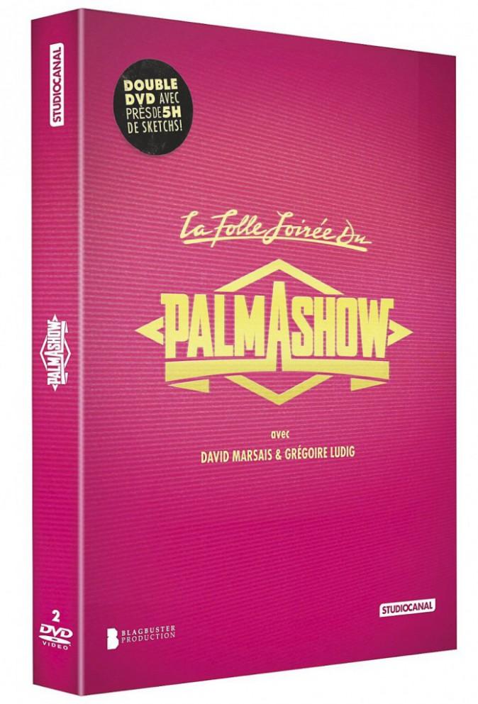 Coffret 2 DVD La Folle Soirée du Palmashow + Le Meilleur de Palmashow l'émission, 17,99€
