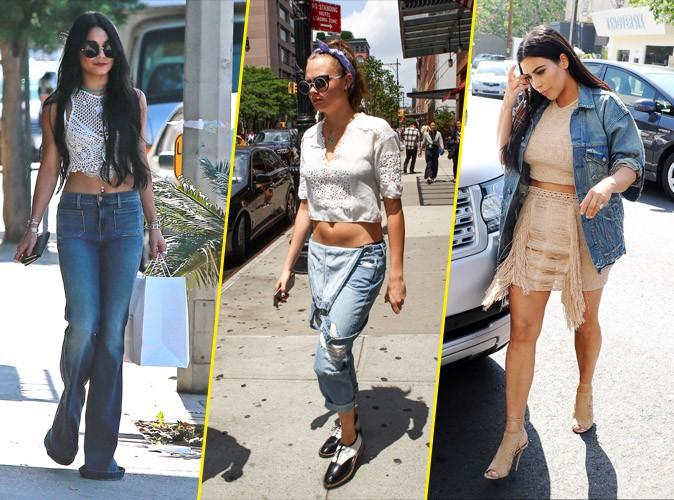 Photos : Vanessa Hudgens, Cara Delevingne, Kim Kardashian... Les stars et le denim !
