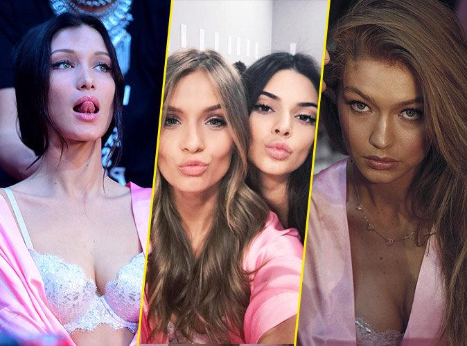Photos :  Victoria's Secret : Bella, Josephine, Kendall, Gigi...les tops se préparent pour le show !