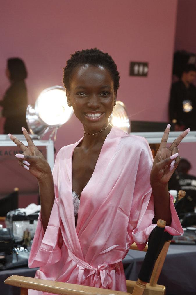 Victoria's Secret Fashion Show : En direct des backstages : Herieth Paul