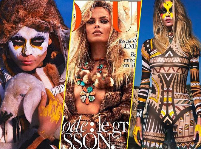 Photos : Wild et sauvages, Natasha Poly et Lily Aldridge nous accueillent dans leur tribu pour Vogue Paris !