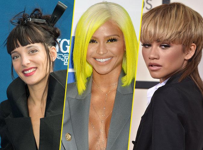 Public Glam Awards 2016 : Erika Moulet, Cassie, Zendaya... Votez pour la pire coiffure !