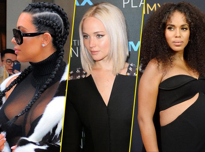 Public Glam Awards 2016 : Kim Kardashian, Jennifer Lawrence, Kerry Washington... Votez pour la plus belle coiffure !