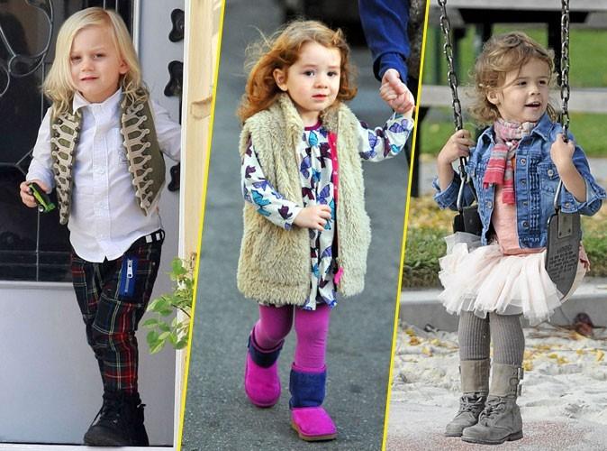 Quiz mode : à chaque star son bébé fashion !