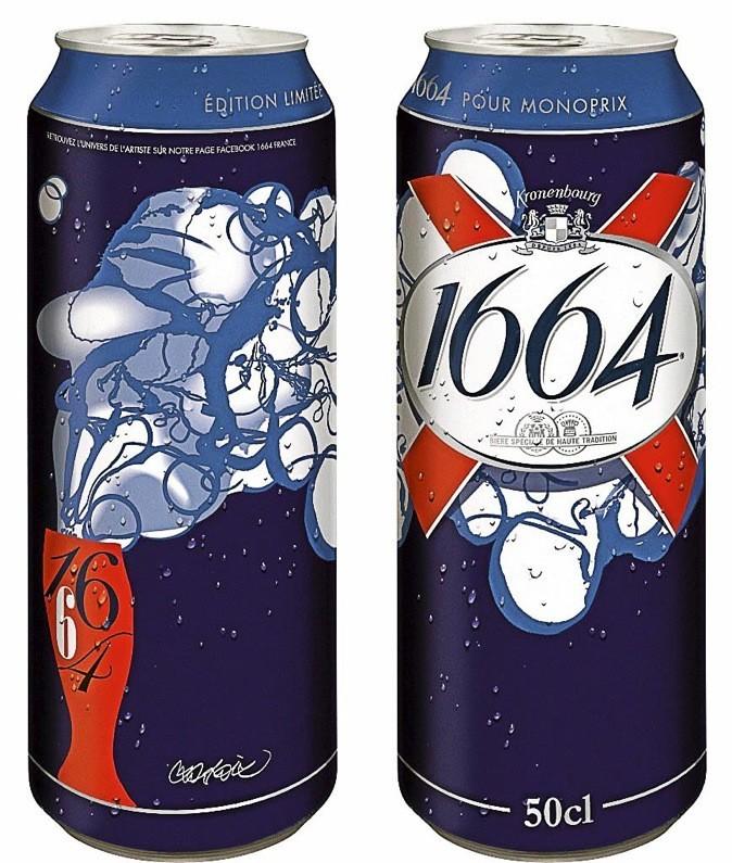 Canettes de bières façon Lacroix !