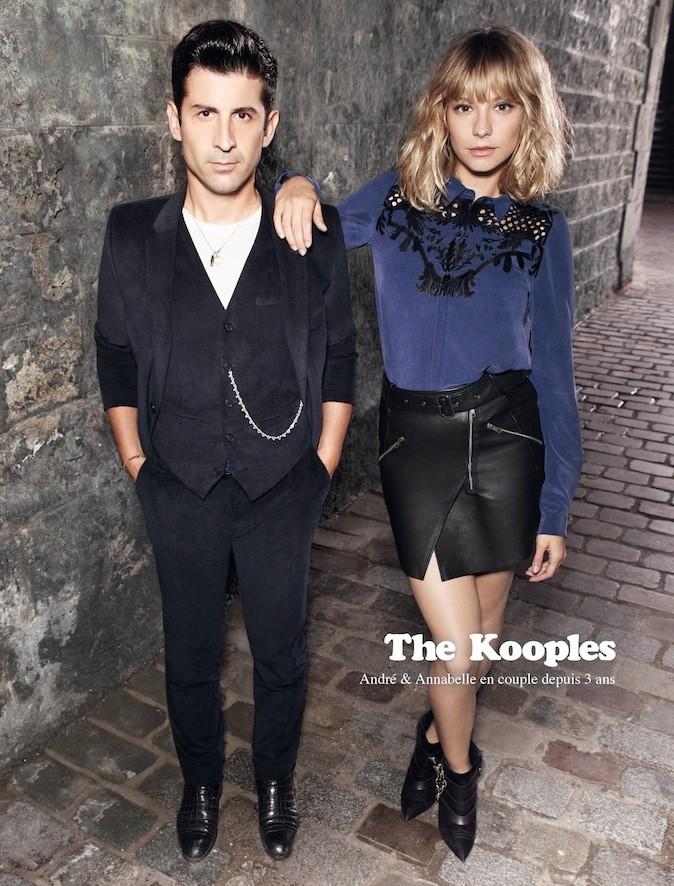André pour The Kooples