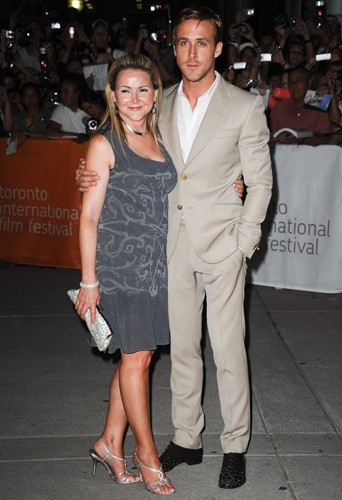Ryan et Donna Gosling à la première des Marches du pouvoir.