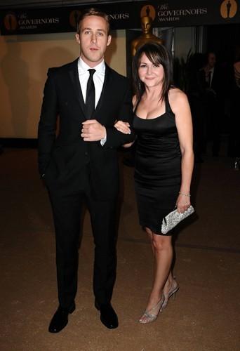 Ryan et Donna Gosling lors des Governors Award en 2010.