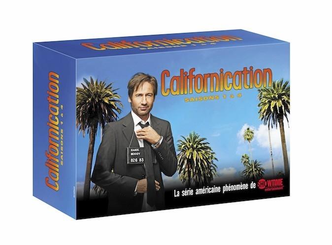 Californication, Intégrale saisons 1 à 4, Paramount 49 €