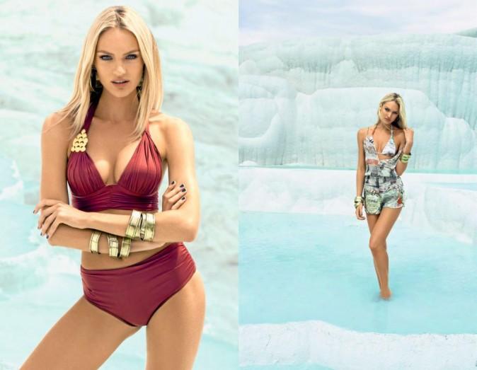 Candice Swanepoel : Campagne Agua de Coco.