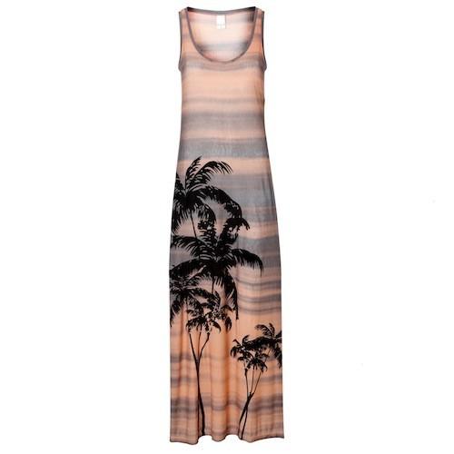 Maxi robe Palm Beach, Oliver Bonas, sur oliverbonas.com , 36,46 €