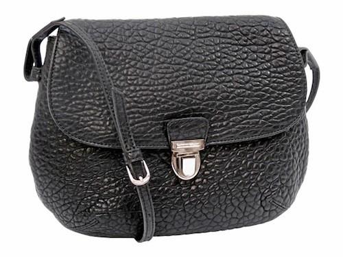 Petit sac en cuir noir, Miniséri, miniseri.com 152 €