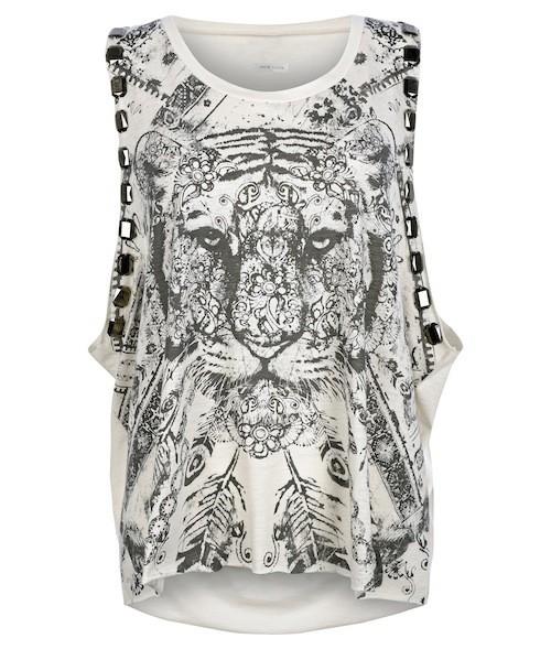 T-shirt imprimé tigre, New Look 18,90 €